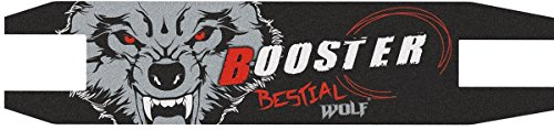 Bestial Wolf Griptape, Lija Personalizada para Scooter Freestyle,12 x 53 cm (griptapebooster)