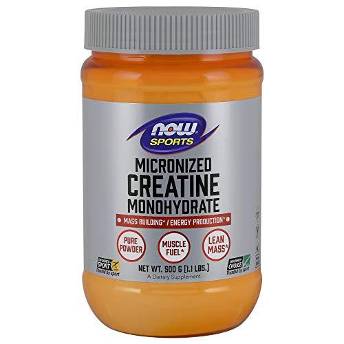 Creatina Micronizada & Monohidratada (500g) - Now Sports