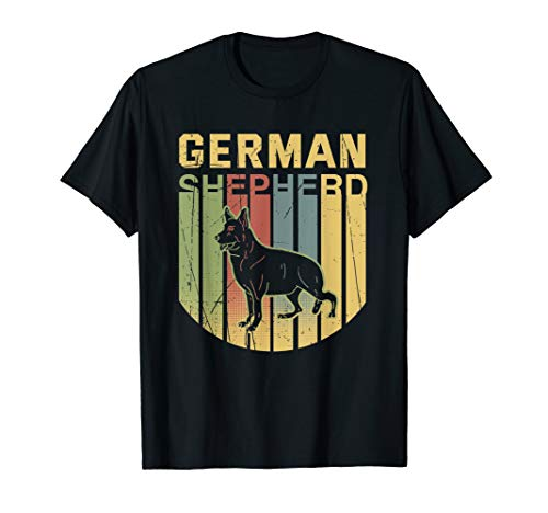 Deutscher Schäferhund T-Shirt Altdeutscher Weißer Geschenk T-Shirt