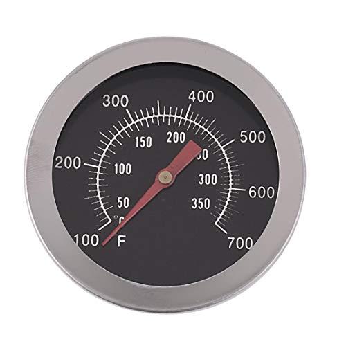 FYHCC Grillthermometer, Holzkohle, Smoker Gasgrill Char-Grillers Zifferblatt 5,1 cm (52 mm) Temperaturanzeige (50 °C – 350 °C)