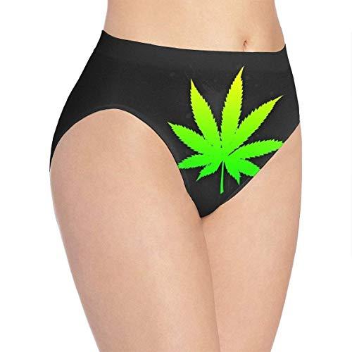 XCNGG Bragas Ropa Interior de Mujer 3D Print Soft Women's Underwear, Tobacco Fashion Flirty Lady'S Panties Briefs Large