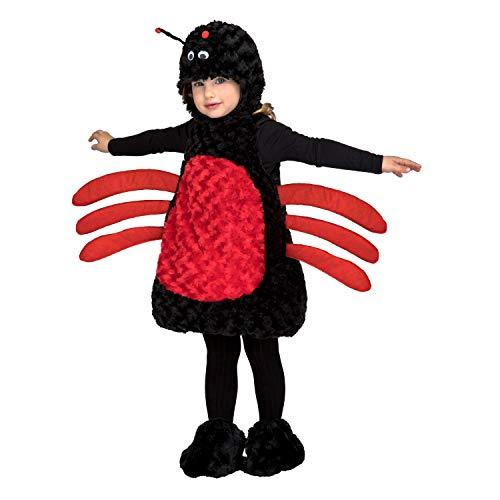 My Other Me Me Me- Araña Animales Disfraz Color negro/rojo 5-6años 205204