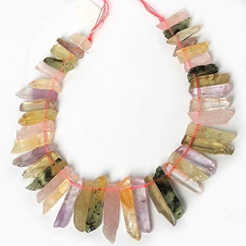 18-50mm 38pcs Chip Beads Natural Denver Mall F Stone Jewelry Ranking TOP11 Irregular