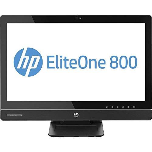 HP EliteOne 800 G1 - PC todo en uno de 23 pulgadas, Intel Core i5-4570S, 2,9 GHz, 8 GB, 500 GB, DVDRW Windows 10 Professional (renovado)