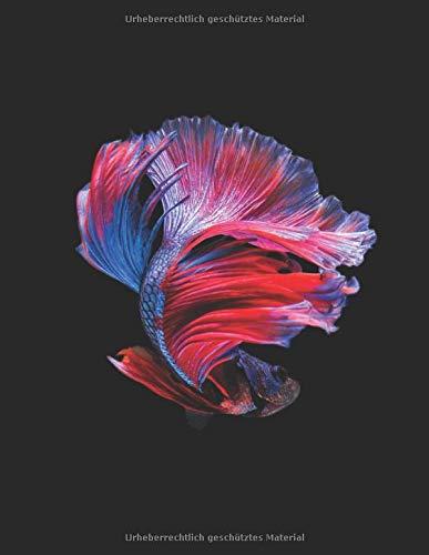 Aquarium Tagebuch: Planer, Notizbuch, Bestandsbuch, Futterplan für alle Auqarianer und Aquaristik Fans ♦ Logbuch für über 100 Einträge ♦ A4+ Format ♦ Motiv: Aquriumfisch 4