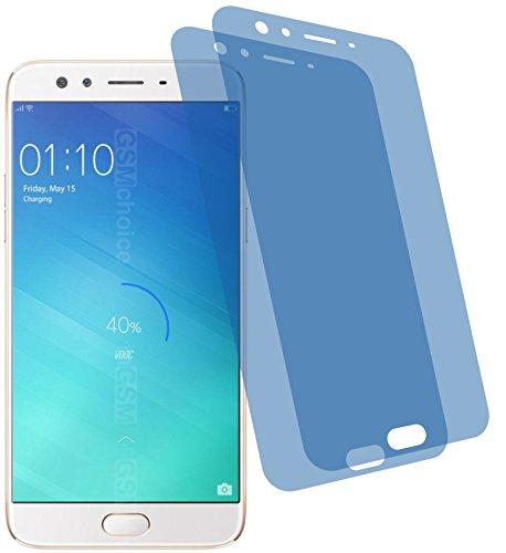 4ProTec I 2X Crystal Clear klar Schutzfolie für Oppo F3 Plus Premium Bildschirmschutzfolie Displayschutzfolie Schutzhülle Bildschirmschutz Bildschirmfolie Folie