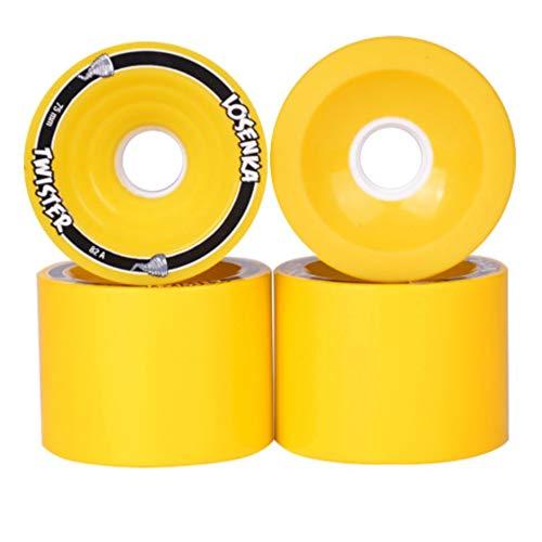 // Set Profi Longboard Skateboard Räder Wheels Cruiser Rad 2 Stk