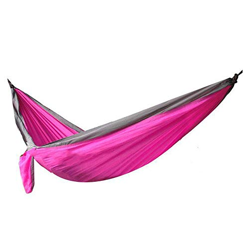 Camping hangmat Enkel Dubbel Parachute Doek Hangmat Outdoor Camping Student slaapzaal Kamer Swing Binnen voorzitter (Color : Style 3, Size : 260 * 130cm)