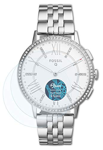 Bruni Schutzfolie kompatibel mit Fossil Q Gazer Folie, glasklare Bildschirmschutzfolie (2X)