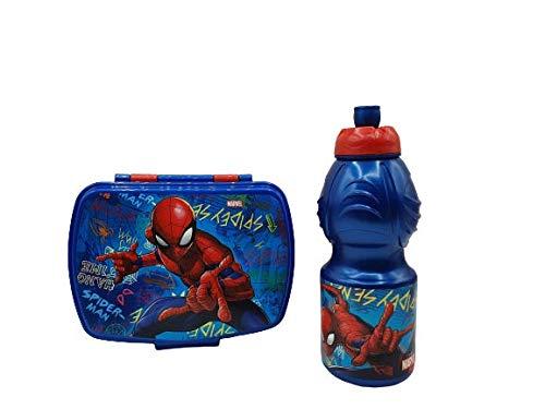 CM Pack 2pcs Botella de Agua plastico Infantil 400ml- Fiambr