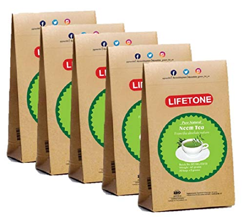Neem-Blatt-Tee | Teatox Extreme Detox Tee | 100% natürlich und tropisch (100 20 Teebeutel)