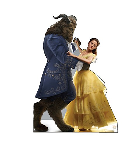 Advanced Graphics Belle & Beast Life Size Cardboard Cutout Standup - Disney's Beauty and The Beast (2017 Film)