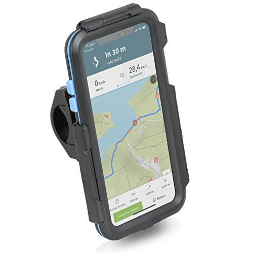 Wicked Chili Tour Case kompatibel mit iPhone 11 Pro MAX Regendichte iPX5 Schutzhülle + Motorrad Bike MTB Handy Fahrrad Navigation Halterung - Outdoor Case mit Touch Display Schutz und Lenker Halter