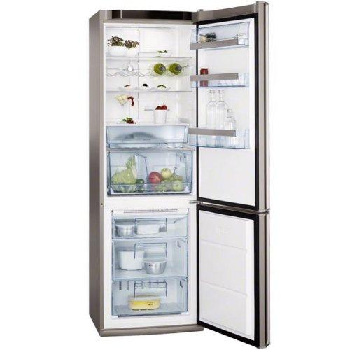 AEG S83200CMM0 réfrigérateur et congélateur A+ Acier inoxydable (SN-T, 44 dB, 10 kg/24h, A+, acier inoxydable)