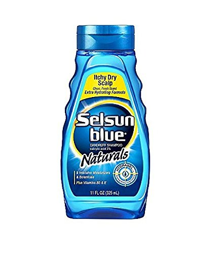 Selsun Blue Itchy Dry Scalp, Naturals, 11 Ounce