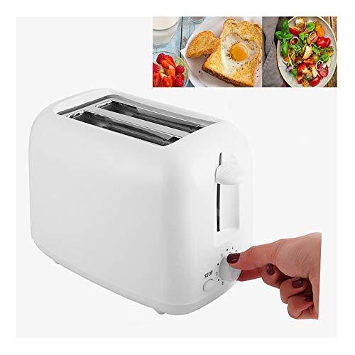 2-3 sneden Extra brede broodrooster met lange sleuf, Toast Boost, Automatische ontbijtmachine, Wit