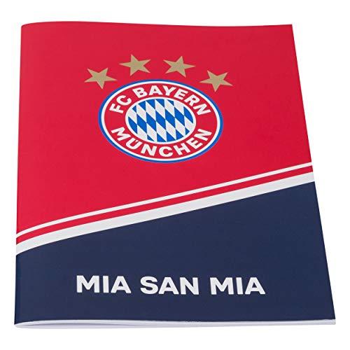 FC Bayern München Hausaufgabenheft, Schulheft, Heft, Aufgabenheft FCB - Plus 2 x gratis Lesezeichen Forever München