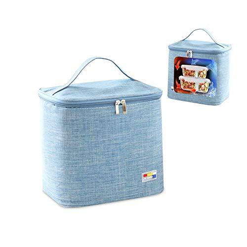 Nevera plegable para picnic, bolsa isotérmica pequeña, bolsa isotérmica para almuerzo, bolsa isotérmica