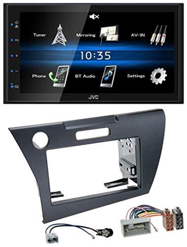 test caraudio24 JVC KW-M24BT 2DIN Bluetooth MP3 AUX USB-Autoradio (für Honda CR-Z) (seit 2010) Deutschland