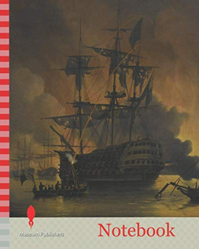 Notebook: Fire on the Wharves of Algiers shortly after the beginning of the Bombardment by the Anglo-Dutch Fleet, 27 August 1816, Nicolaas Baur, 1816 - 1820