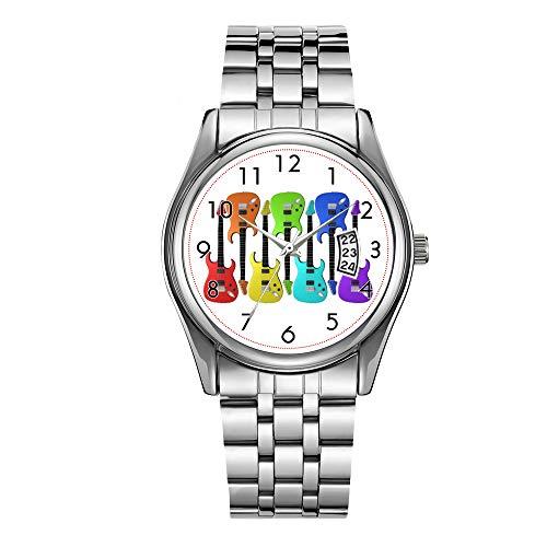 Reloj de lujo de los hombres 30m impermeable fecha reloj masculino deportes...