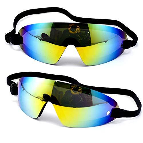 ZHENEN Gafas a Prueba Gafas de Paracaidismo Pilotos de Gran altitud Paracaidismo Espejo Montar A Prueba de Viento Protección contra el Polvo Protección Ocular Gafas de protección