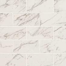 MSI Stone NPIECAR2X4P Pietra Carrara Subway Tile with Polished Finish 2