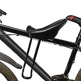 Runaty Fahrrad Kindersitz - Kindersitz Mit Rückenlehne Und Fußpedalen - Schnellverschluss - Für...