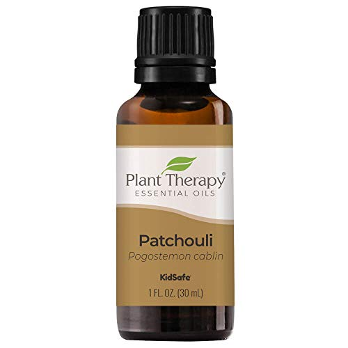 Plant Therapy Patchouli Essential Oil 100% Pure, Undiluted, Natural Aromatherapy, Therapeutic Grade 30 mL (1 oz)