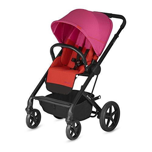 CYBEX Gold Balios S Kinderwagen ab Geburt bis 17 kg (ca. 4 Jahre) Fancy Pink