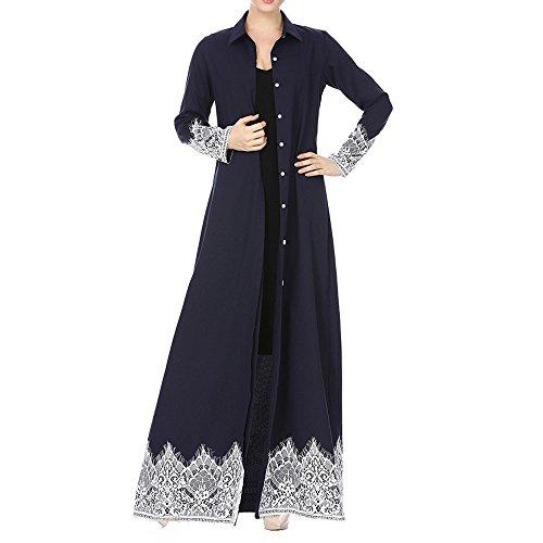 Muslim Dress Dubai Kaftan Women's Long Sleeve Long Dress Abaya Islamic Clothing Girls Arabic Caftan