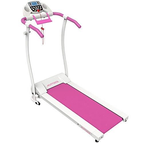 Murtisol 1.5HP Electric Pink Treadmill Folding Running...
