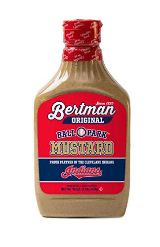 Bertman Original Ball Park Mustard, 16 oz Gold Medal Edition