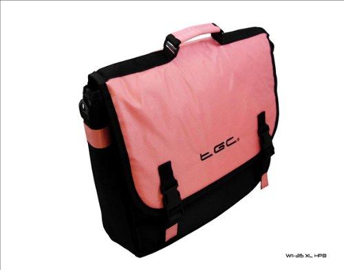 Baby Pink & Black Messenger Bag for Lenovo IdeaPad V U300S U310 U410 S Z Series