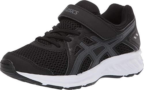 ASICS Kid's Jolt 2 PS Running Shoes, 3M, Black/Steel Grey