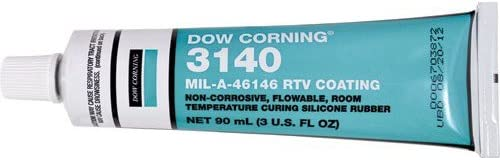Dow Corning Japan's largest assortment 3140 Industry No. 1 RTV Adhesive or Coating oz. -2 p 3 Clear Tube