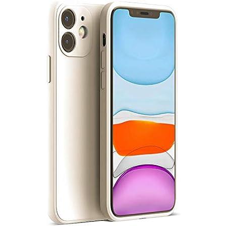 PANDA BABY iPhone 11 Pro Max/11 Pro/11シリコンケース レンズの全面保護 次世代iPhoneの手触り (11, ベージュ)