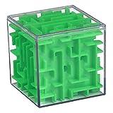 ruiting Puzzle de Inteligencia Juguetes Verde 1pc del Cubo niños Mini...