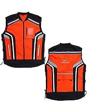 PROANTI Motorfiets veiligheidsvest voor motorfiets, quad, neon vest