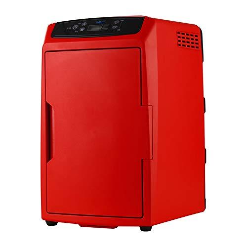 Rindasr 12L Mini refrigerador, refrigerado Aislamiento Bebidas Congelador, Hogar Portable al Aire Libre Refrigerador Compacto (Color : Red)