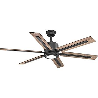 "Progress Lighting P2586-7130K Glandon 60"" Ceiling Fan Black"
