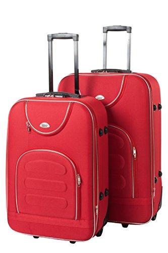 Softcase Softcase Kofferset New York 2-teilig Gr. L+XL, 67+76cm, 39+57Liter 7 verschiedene Farben (rot)