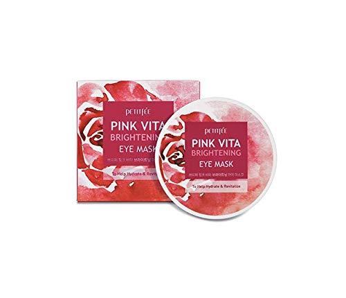 [Petitfee] Pink Vita Brightening Eye Mask 60ea