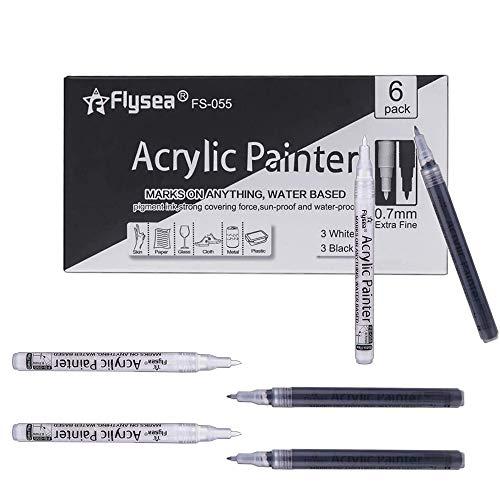 Rotuladores Pintura Acrilica Permanente,Rotulador Pintura Ac