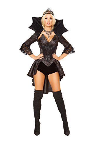 Sexy Queen of Darkness Costume for Women
