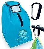 Autositz Reisetasche- Wasserdicht, XL, Schulterriemen und Tragegriff, mit Kinderwagenclip.
