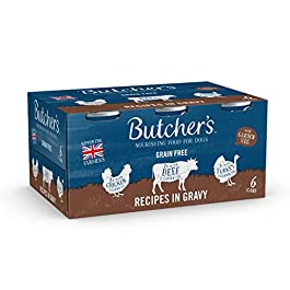Butcher's Puppy Wet Dog Food Tin Cans Grain Free