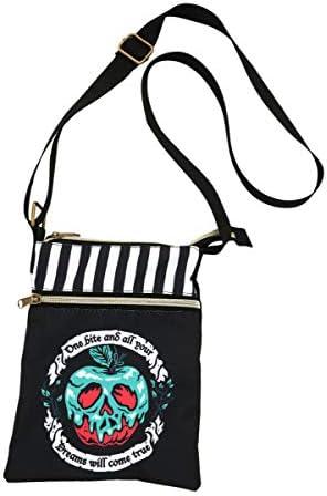 Loungefly Disney Villains Poison Apple Passport Crossbody Bag product image