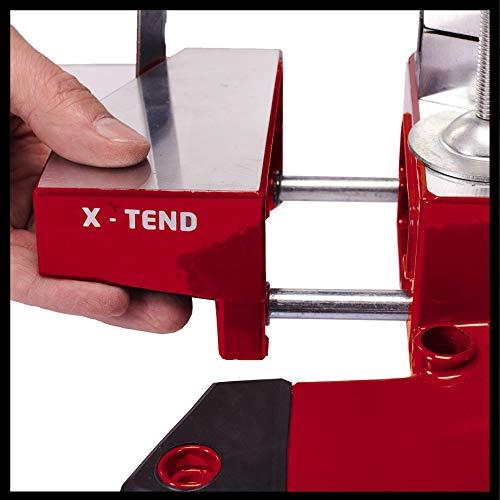Einhell Akku-Kappsäge TE-MS 18/210 Li-Solo Power X-Change (Li-Ion, 18 V, 3.000 min-1, neigbarer Sägekopf, X-Tend Werkstückauflagen, HM-Präzisionssägeblatt, ohne Akku und Ladegerät) - 10
