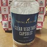 EssentialOilsLife - Clear Vegetable Capsules - 250 ct